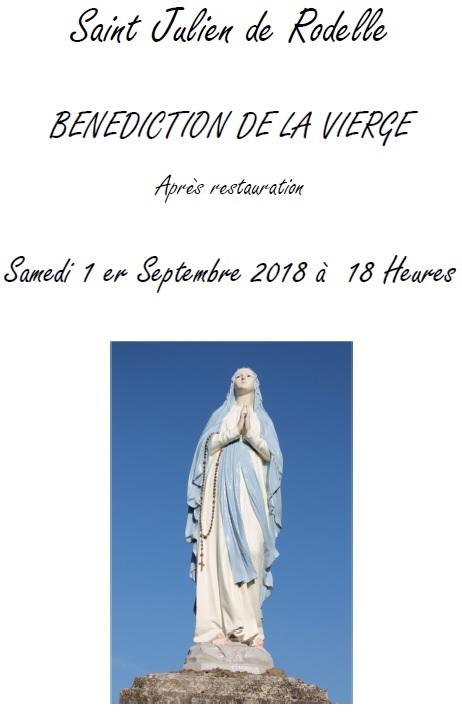 180901 - St Julien de Rodelle Bénédiction de la vierge